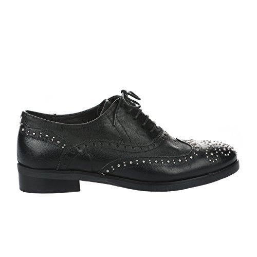 Noir Chaussures Femme Noir Lacets à Miglio n7YZT0q