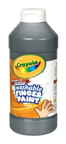 Binney & Smith Crayola(R) Washable Finger Paint, 16 Oz., - Washable Finger Oz 16 Paint