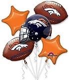 Anagram International Bouquet Broncos Party Balloons, Multicolor