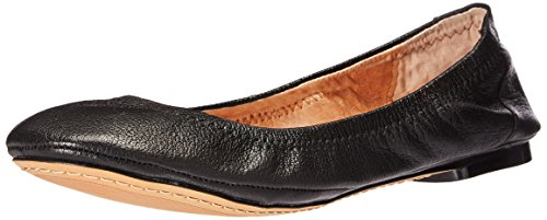 206 Collective Women's Parker Ballet Flat, Black, 8 B US