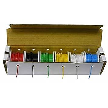 Electronix express- Hook Up Draht Kit (Volldraht Kit) 22 Gage (25 ...
