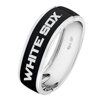 - Game Time Offical MLB CHICAGO WHITE SOX Bangle Bracelet
