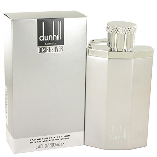 Desire Silver London by Alfred Dunhill Eau De Toilette Spray 3.4 oz for Men