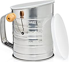 Stainless Steel 3-Cup Flour