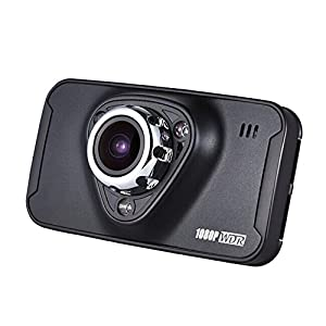 PowerLead Pdvr D010 PL-M7 1080P Double Camera DVR HD Night-vision Car DVR Vehicle Traveling Data Recorder Multifunctional Wide-angle Lens Parking Monitor Camera