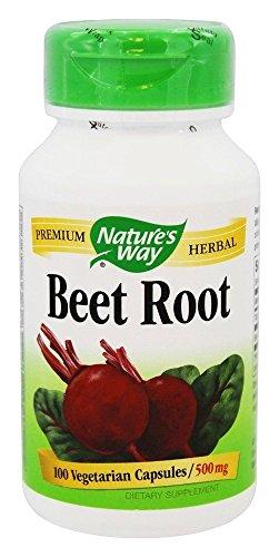 Natures Way Beet Root 100 Vegetarian capsule, 100 ct
