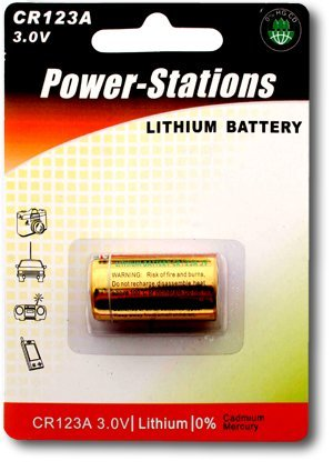 Power-stations- Photo Lithium Battery - 123a / Cr123a - Uk's Best - Watch Uk Station
