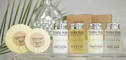 Terra Pure Bar Soap, Travel Size Hotel Amenities, 1.25 oz (Pack of 350) by Terra Pure (Image #3)
