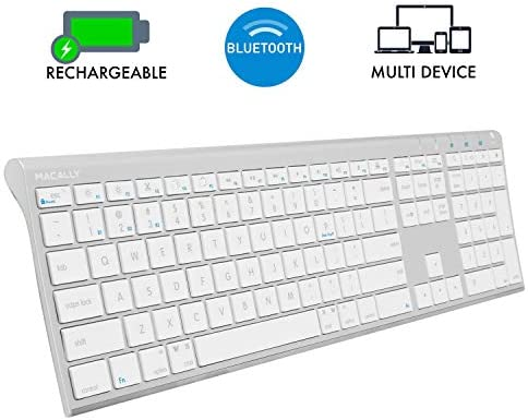 Macally Wireless Bluetooth Keyboard Computers product image