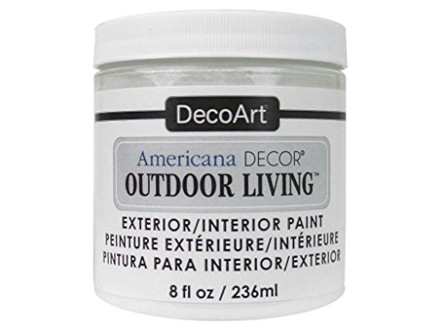 Decoart DECADOL-36.02 Outdoor Living 8oz Picketfence Americana Outdoor Living 8oz Picket Fence Paint Picket Fence
