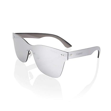 Foreyever Spica Gafas de sol, Plateado (Argento Specchiato ...