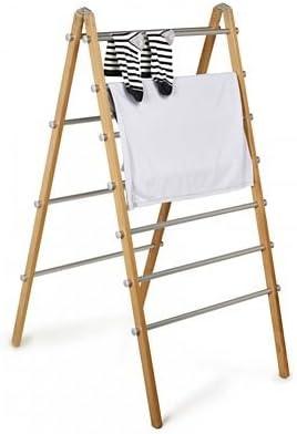Lakeland Modern Folding Laundry Ladder - Beechwood Frame - 5m Drying Space