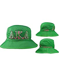 4519bb1f9fd Green Embroidered Bucket Hat
