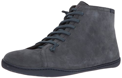 Camper Peu Cami, Sneaker a Collo Alto Uomo Grigio (Dark Gray 020)