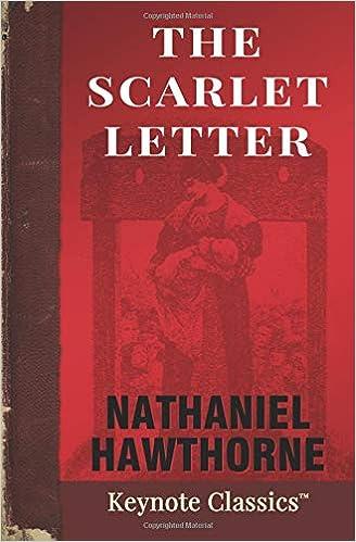 The Scarlet Letter Keynote Classics Nathaniel Hawthorne Michelle M White 9781949611007 Amazon Books