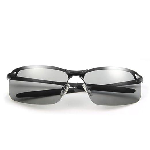 WYZBD Gafas de Sol para Hombre, día y Noche, polarizador ...