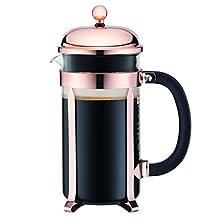 Bodum 8 Cup Chambord Classic Coffee Maker, 34-Ounce, Copper