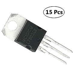(15 Pieces) MCIGICM IC 7805 Voltage Regu...