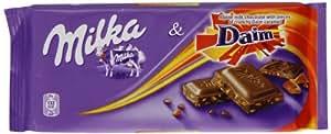 Milka Daim Bar 100 G (Pack Of 20)