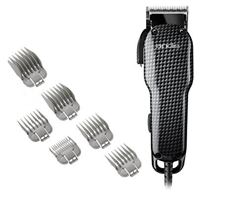 Andis All-in-One Professional Powerful Lightweight Barber Shop Hair Cut Salon Adjustable Blade Clipper Trimmer Set
