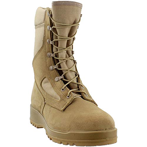 Belleville 340DESST Men's 8-in ST EH Flight Tactical Boot Tan 15 W US