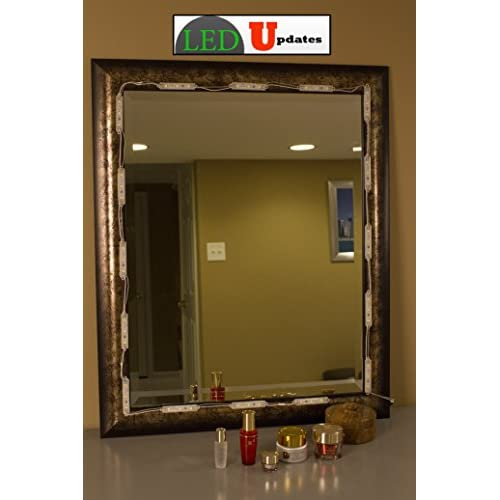 MAKE UP MIRROR LED LIGHT for VANITY MIRROR and UL power supply eco series best