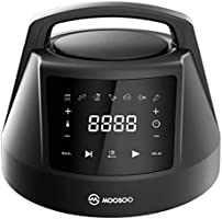 MOOSOO 6 QT Air Fryer Lid for Instant Pot with 7 Optional Presets, Turn Your Electric Pressure Cooker Into Air Fryer in...