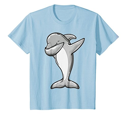 d8110bee The dabbing dolphin - funny dolphin dab t-shirt the best Amazon ...