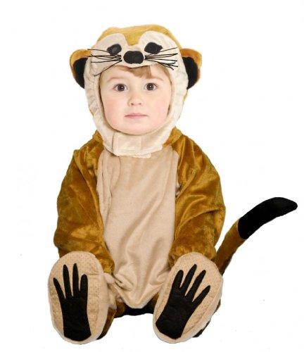 Meerkat Deluxe Halloween Costume Children's 18-36 Months 2T 3T Multicolor, Bags Central