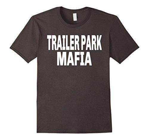 Mens Trailer Park Mafia T-Shirt For a Clan XL Asphalt ()