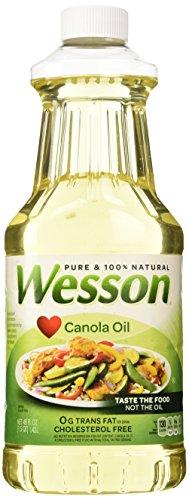 Wesson Canola Oil-48 OZ