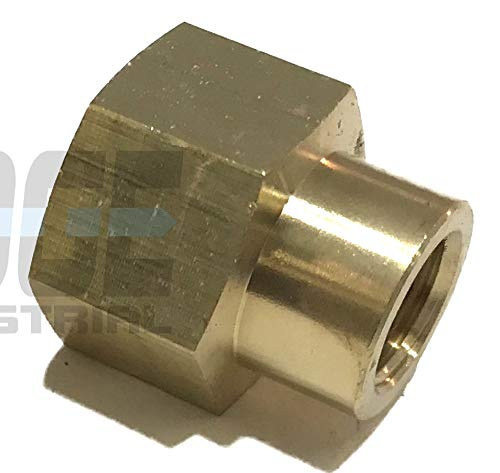 EDGE INDUSTRIAL Brass REDUCING Coupling 1/2