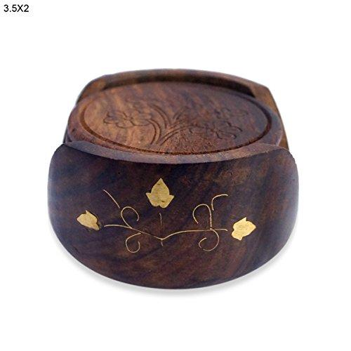 Solid Wheelsets (Handmade Designer Wooden Tea Coaster)