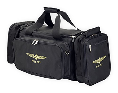 DESIGN 4 PILOTS brand flight bag WEEKEND, pilot bag, aviation bag black by DESIGN 4 PILOTS