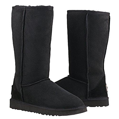 Black Shenduo Classic Boots Snow Women's DV5815 Tall Boots gqgr0H