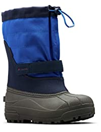 Columbia Kids' Powderbug Plus II Boot, Youth