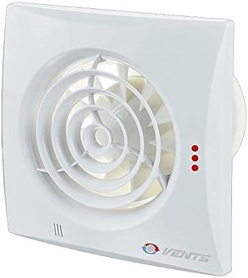 VENTS 100 quiet TH extractor de bajo nivel de ruido para baño o ...