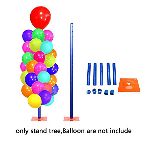 Joyooo 1 6m detachable balloon decoration tree display for Balloon decoration business