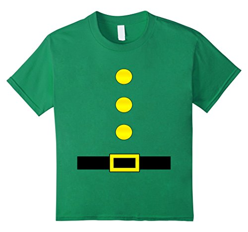 Costume Ideas Group 6 (Kids Elf Santa Dwarf Style Halloween Group Costume Idea T-Shirt 6 Kelly)