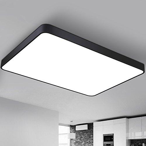 de moda rectangular salón SDKKY LED lámpara iluminación vn0mON8w