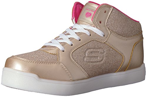 Skechers Kids Girls' E-Pro Sneaker,Gold, by Skechers