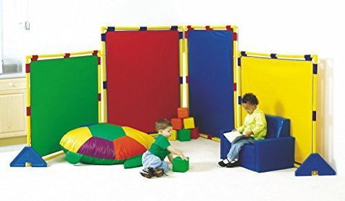(Big Screen Rainbow Playpanel - Set of 4 by Children's Factory)