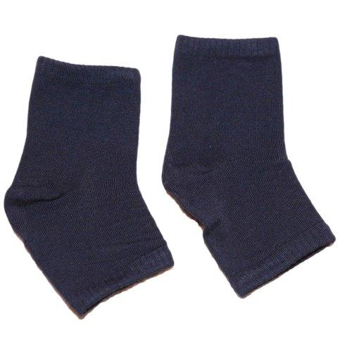 Nerdy Nelly Pedicure Socks Solids (Pick a Color) (NN NAVY)