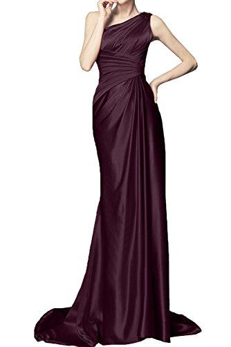 Traube Lang Schleppe Promkleid Abendkleider Damen Ein Schulter Ballkleider Ivydressing qwv81I