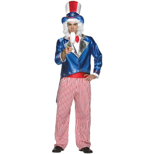 [Uncle Sam Adult Costume] (Uncle Sam Halloween Costumes)