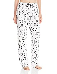 Little Blue House by Hatley Women's LBH Pajama Pants - Music Notes