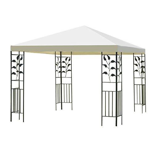 Tangkula 10'x10' Patio Gazebo Canopy Tent Steel Frame Shelter Awning (Frame Gazebo)