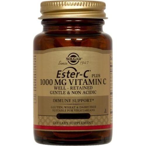 Solgar, Ester-C Plus 1000 mg de vitamine C, 180 comprimés (complexe d'ascorbate Ester-C)