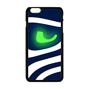 "Caitin Simple NFL Seattle Seahawks Cell Phone Cases Cover for Iphone 6 Plus(5.5"")"