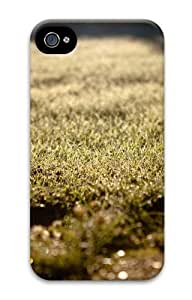iPhone 4S Case, iPhone 4S Cases - Depth of field grass Polycarbonate Hard Case Cover for iPhone 4/4S